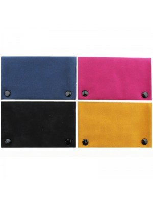 Wholesale Champ Zipped Soft Touch Rolling Pouches - Assorted Colours