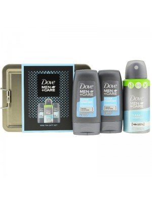 Wholesale Dove Men + Care Mini Tin Gift Set
