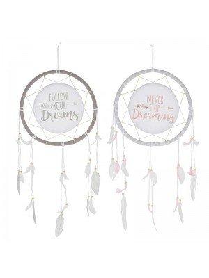 Dreaming Dreamcatcher In 2 Assortments-33cm
