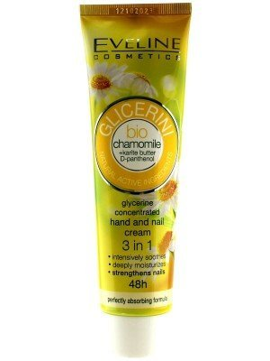 Eveline Glycerine Concentrated Hand and Nail Cream - Chamomile (100ml)