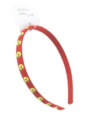 Wholesale Emoji Plastic Aliceband - Assorted Colours