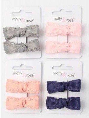 Fabric Bow Clips - 3.5cm