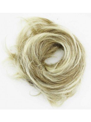 Wholesale Synthetic Hair Scrunchies - Blonde