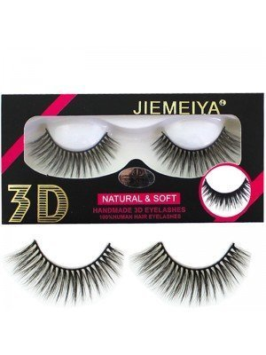 Wholesale Jiemeiya Natural & Soft 3D Handmade Eyelashes - A07