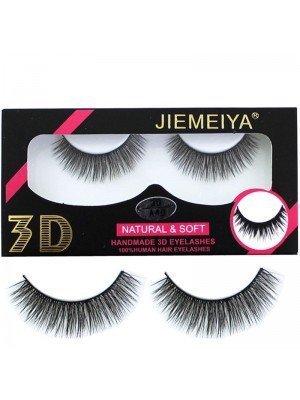 Wholesale Jiemeiya Natural & Soft 3D Handmade Eyelashes - A40