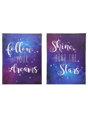 LED Light Up Purple Dream Canvas-40 x 30cm