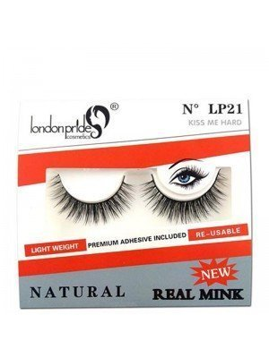 Wholesale London Pride Real Mink Natural Eyelashes - LP21 Kiss Me Hard