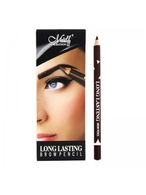 Wholesale Me Now Long Lasting Eyebrow Pencil - 02 Dark Brown