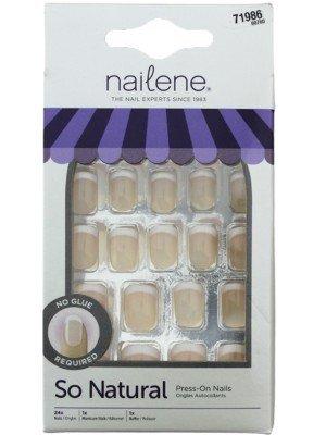 Wholesale Nailene So Natural French Press-On False Nails - Short Pink