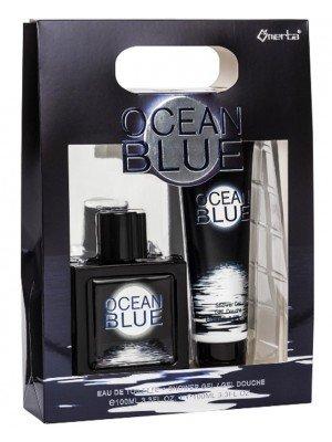Wholesale Omerta Men's 2pcs Gift Set - Silver Ocean
