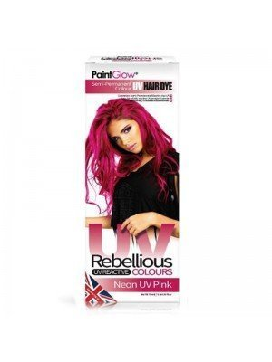 Wholesale Paint Glow Hair Dye - Neon UV Pink