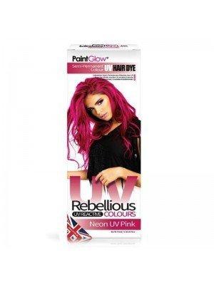 Wholesale Paint Glow Hair Dye - Neon UV Pink