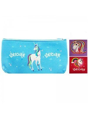 Wholesale PVC Unicorn Design Pouch Bag - Assorted