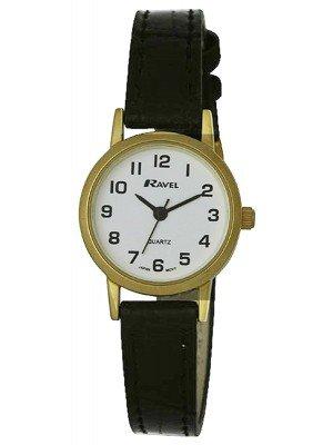 Wholesale Ravel Ladies Polished Round Watch - Gold