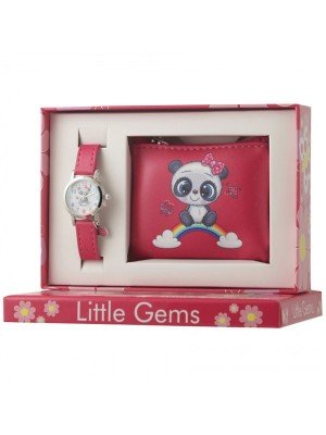 Ravel Little Gems Panda Watch and Coin Purse Gift Set