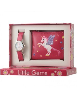 Ravel Little Gems Unicorn Watch and Coin Purse Gift Set