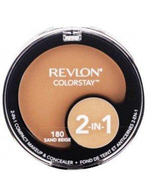 Wholesale Revlon Colorstay 2-in-1 Compact Makeup Concealer - 180 Sand Beige