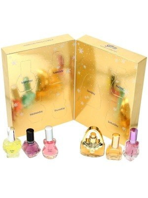 Saffron Ladies Perfume Advent Calendar - Seven Days Gift