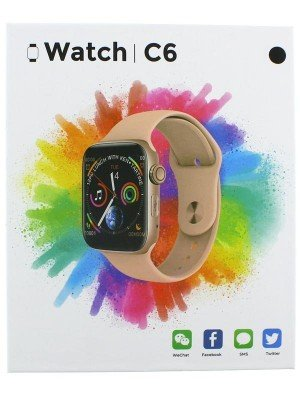 Smart Watch C6 - Assorted Colours