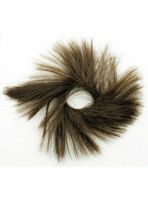 Wholesale Synthetic Hair Scrunchies - Brown