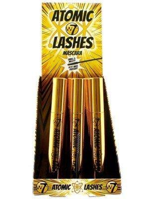 W7 Atomic Lashes Mascara - Blackest Black