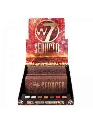 Wholesale W7 Seduced Provocative Pressed Pigment Eyeshadow Palette