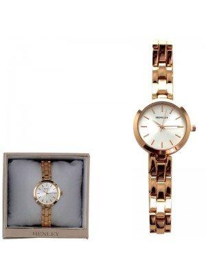 Wholesale Henley Ladies Bracelet Watch - Rose Gold