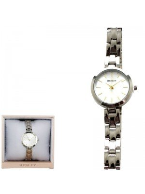 Wholesale Henley Ladies Bracelet Watch - Silver