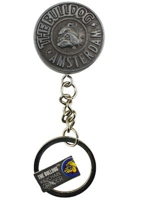 Wholesale Bulldog Keychain Metal Grinder - 2 Part