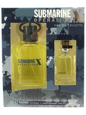 Real Time Men's Perfume Eau De Toilette - Submarine Operation (100ml)