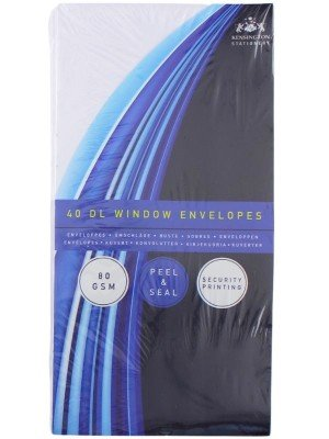 Wholesale Window Peel & Seal Envelopes (Pack of 50) - DL White