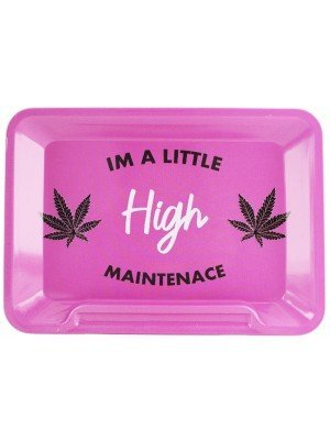"""Wholesale Wise Skies Rectangular R-Tray """"I'm a Little High Maintenace"""""""