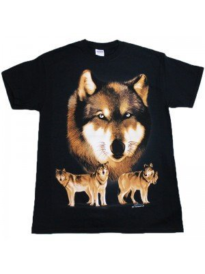 Wolf Pack Black T-Shirt