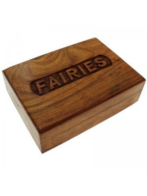Wholesale Wooden Box with 'Fairies' Carving