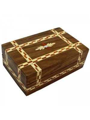 Wholesale Wooden Box with Inlay + Mother of Pearl