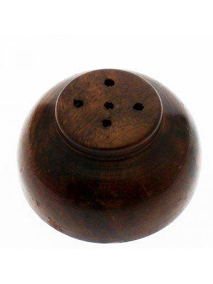 Wooden Incense Burner - Disc Shape