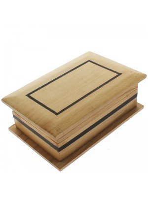 Wooden Jewellery Box 20.5x13x5cm