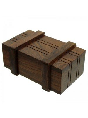 Wooden Secret Storage Puzzle Box
