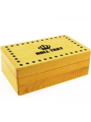 Wholesale Roll Tray Medium Wooden R-Box