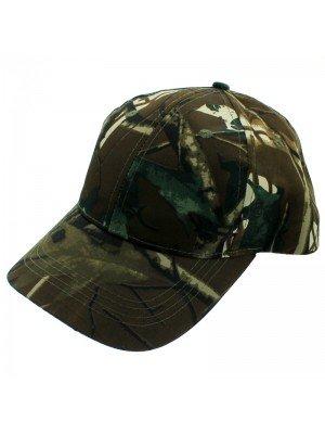 Woodland Camouflage Baseball Cap