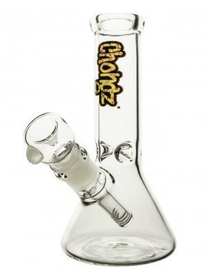 """Wholesale Chongz """"Pretty Baby"""" Glass W-Pipe – Clear Ice"""