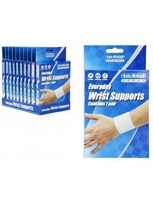 First Aid Wrist Support Sports Bandage - Assorted Sizes