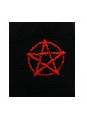 Wrist Sweatbands Red Pentagram Design