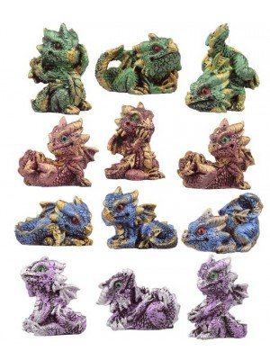 Wholesale Crystal Baby Dragon World Figures