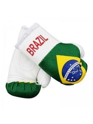 Mini Boxing Gloves - Brazil