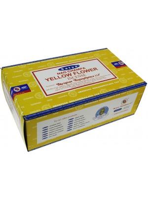 Wholesale Satya Nag Champa Yellow Flower Incense Sticks