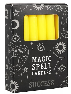 Yellow Magic Spell Candles - Success(Pack of 12)