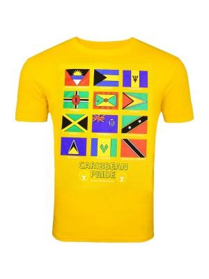 Yellow Caribbean Pride T-Shirt