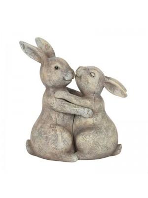 Wholesale You Make My Heart Thump Bunny Ornament