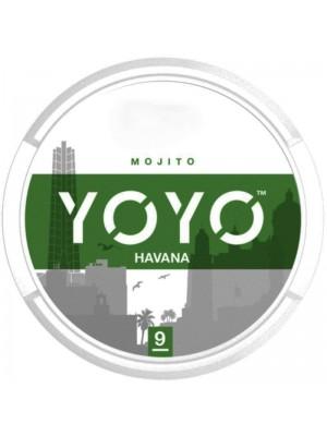 Wholesale YOYO Havana Tobacco Free Nicotine Chew Bags - Mojito (8mg)
